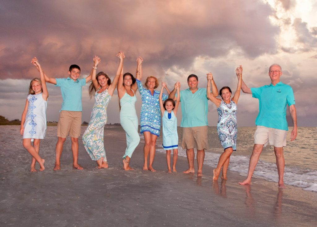 Family Beach Portrait Boca Grande