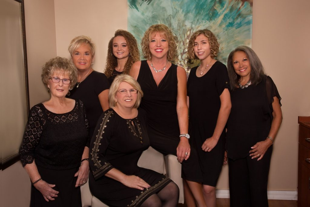 Beauty Salon Staff Portrait