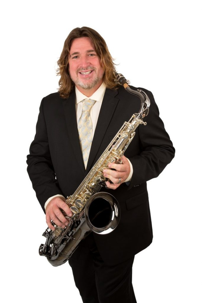 Portrait of a Saxophone Player