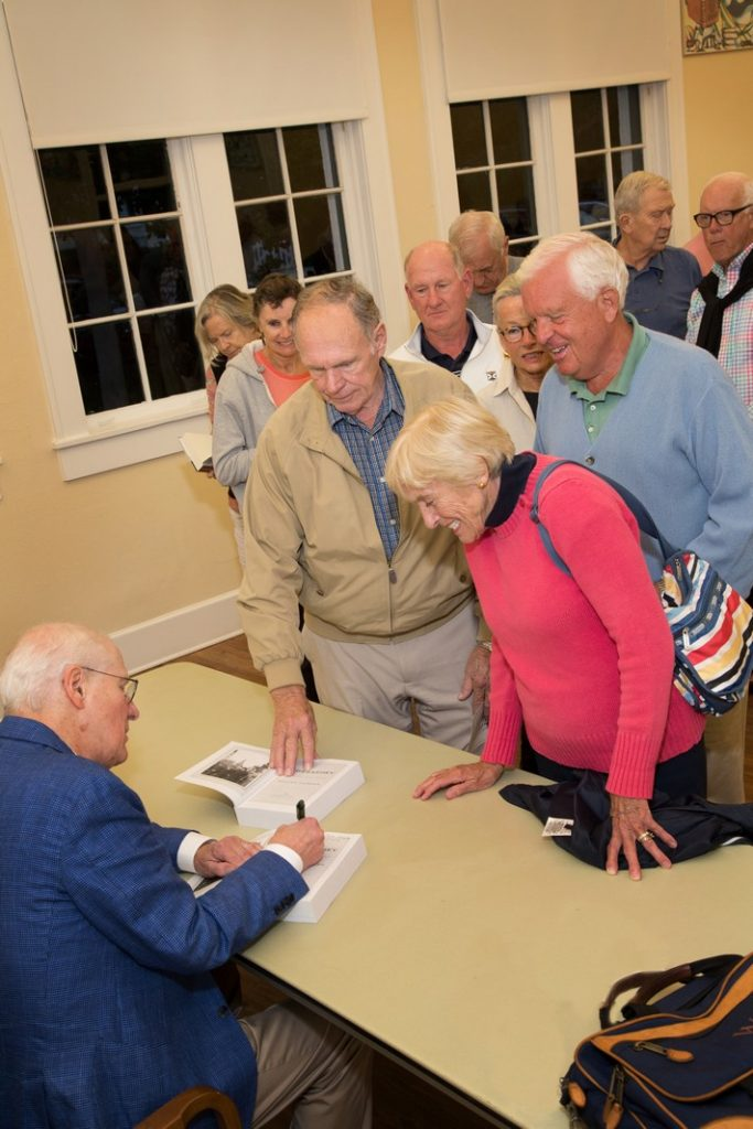 Event at the Johann Fust Library on Boca Grande