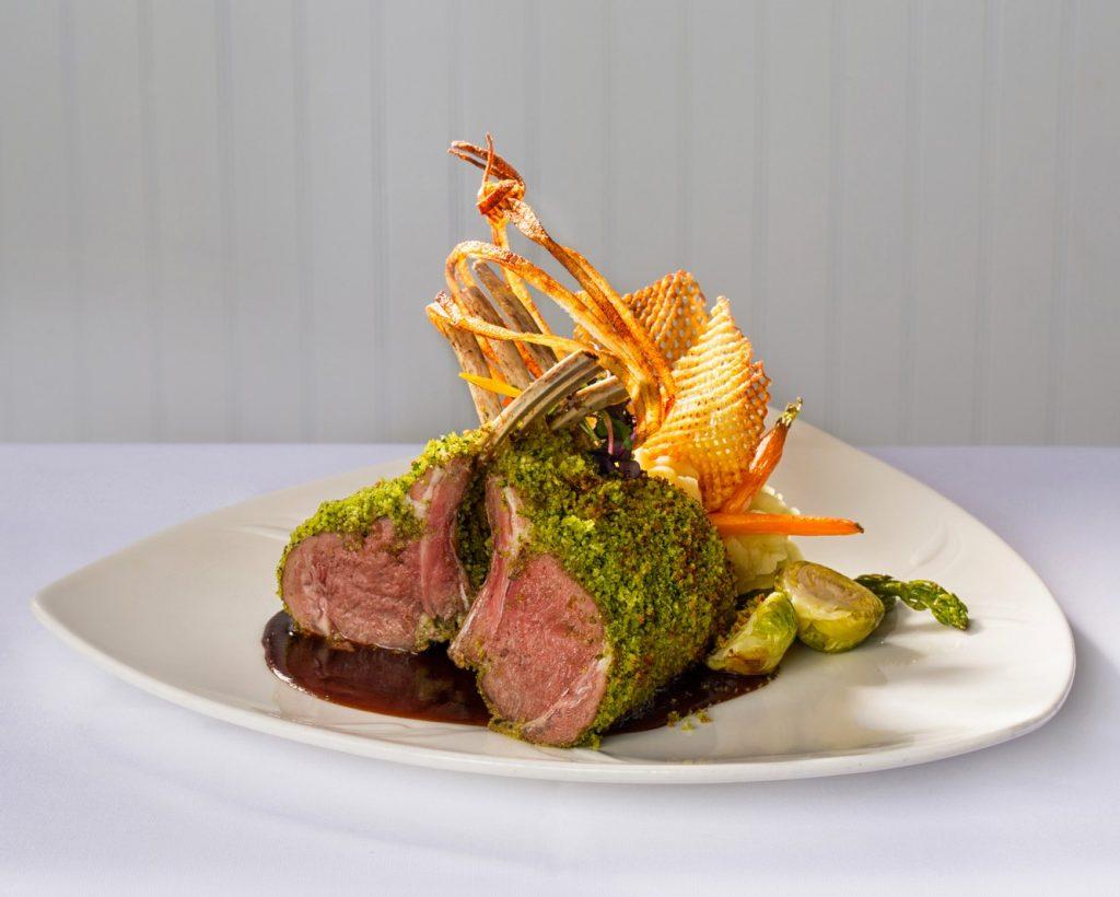 Food Photography - Rack of Lamb