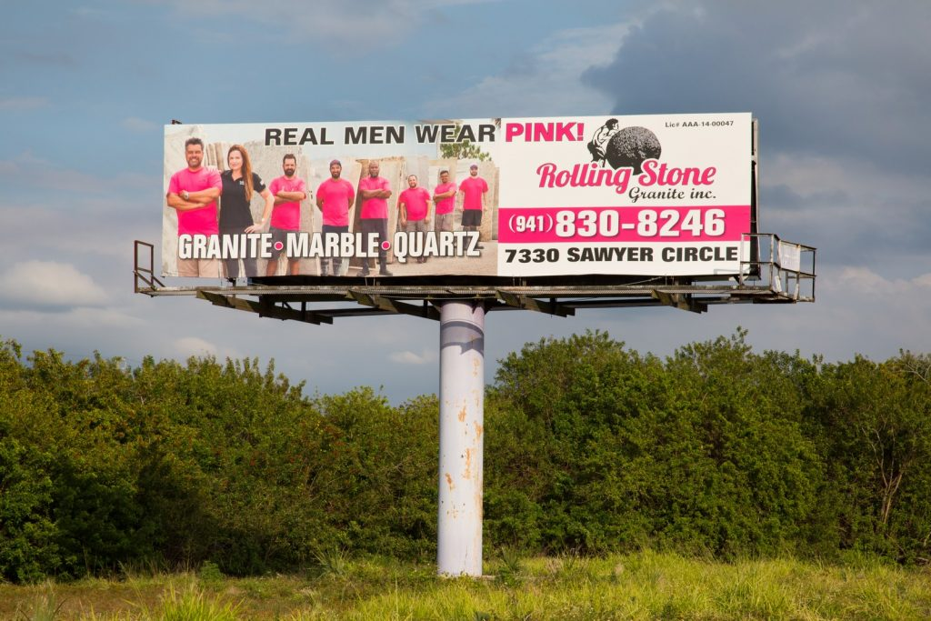 We Photographed the Rolling Stone Granite Team for Their Billboard