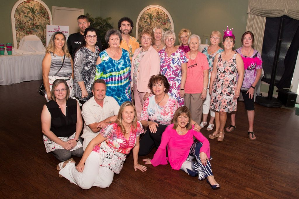 Bra Dazzle - Dollars for Mammograms Charity Event Group Photo