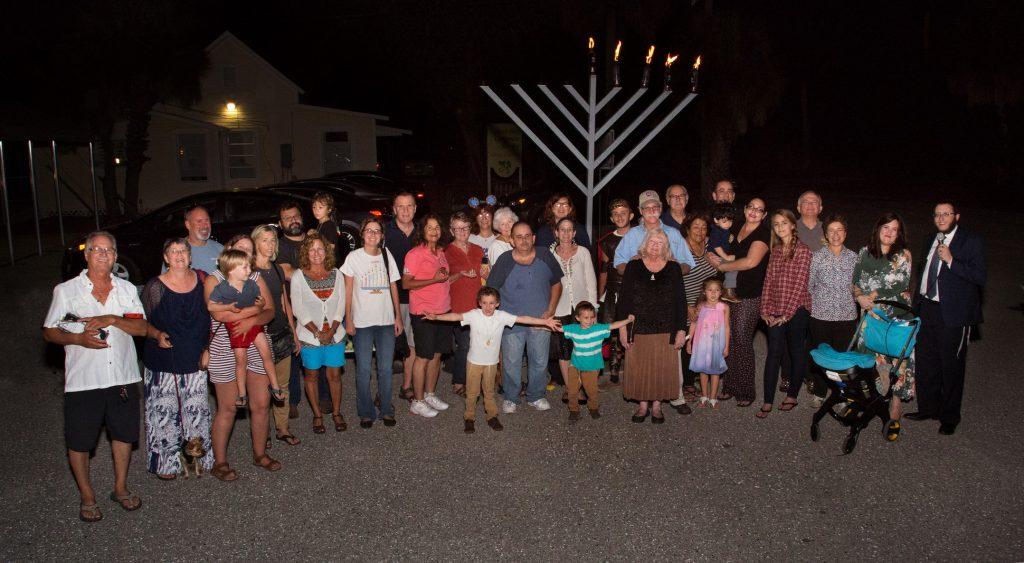 Chanukah Event Group Photo