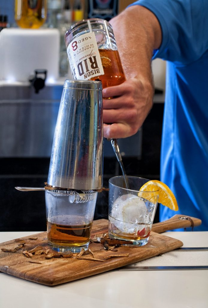 Commercial Photograph of a Bartender