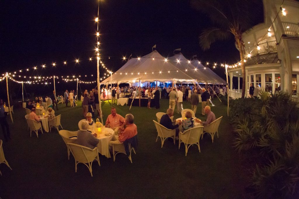 Event on the Lawn at the Gasparilla Inn