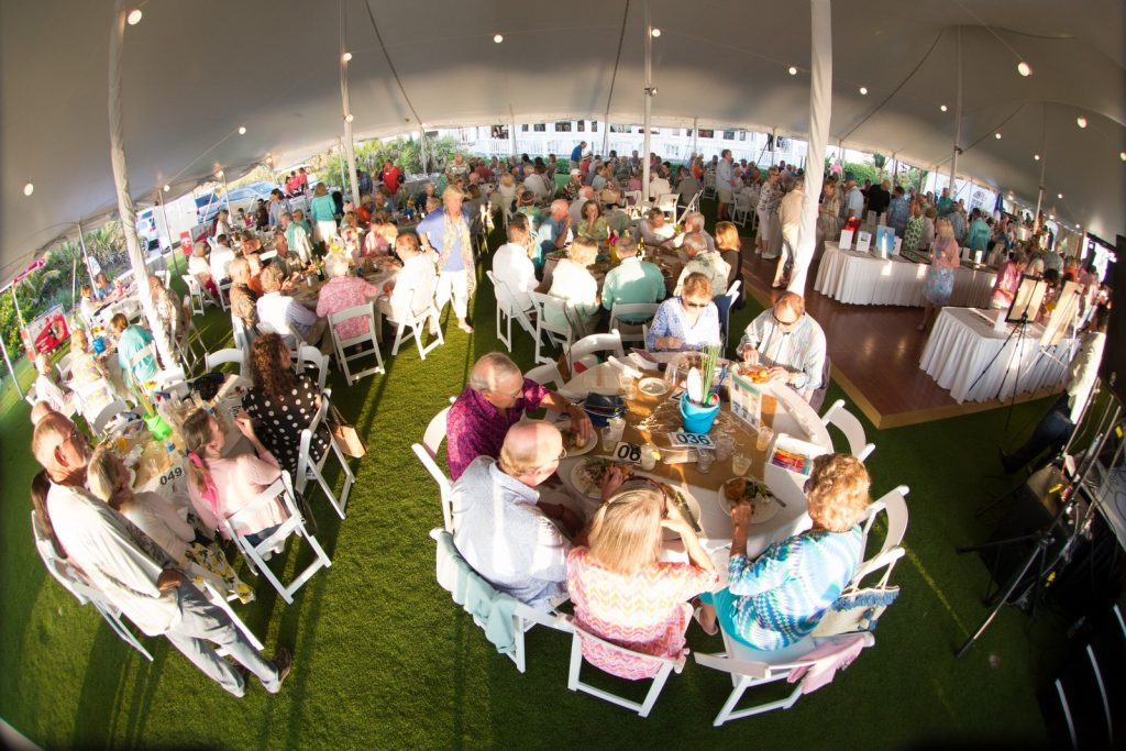 Outdoor Event Photography - Tables - Tent