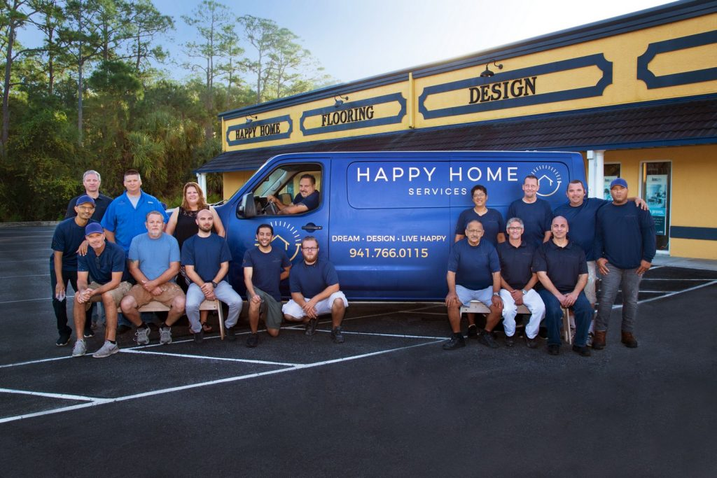 Happy Home Services Team Photo