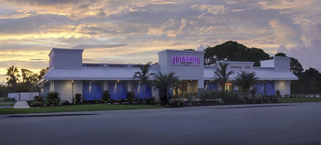 Howard's Restaurant Exterior Commercial Photograph