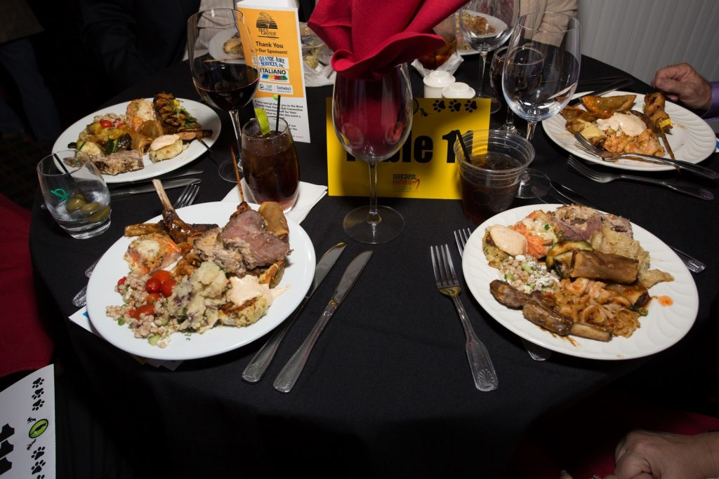 Table at the Suncoast Humane Society Tennis Ball