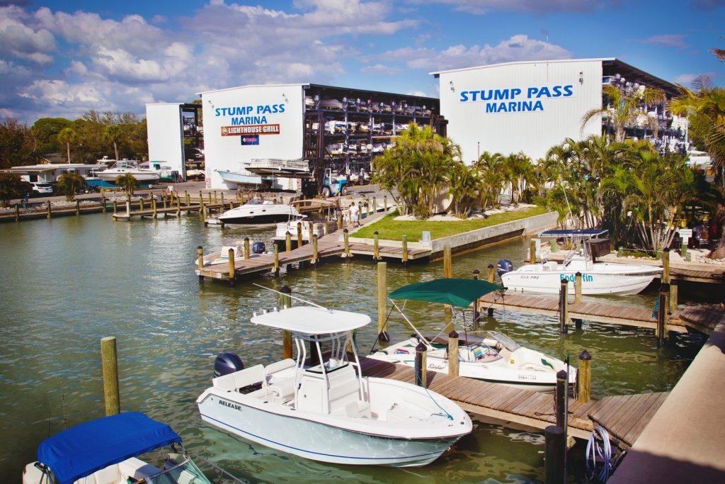 Commercial Shot for Stump Pass Marina