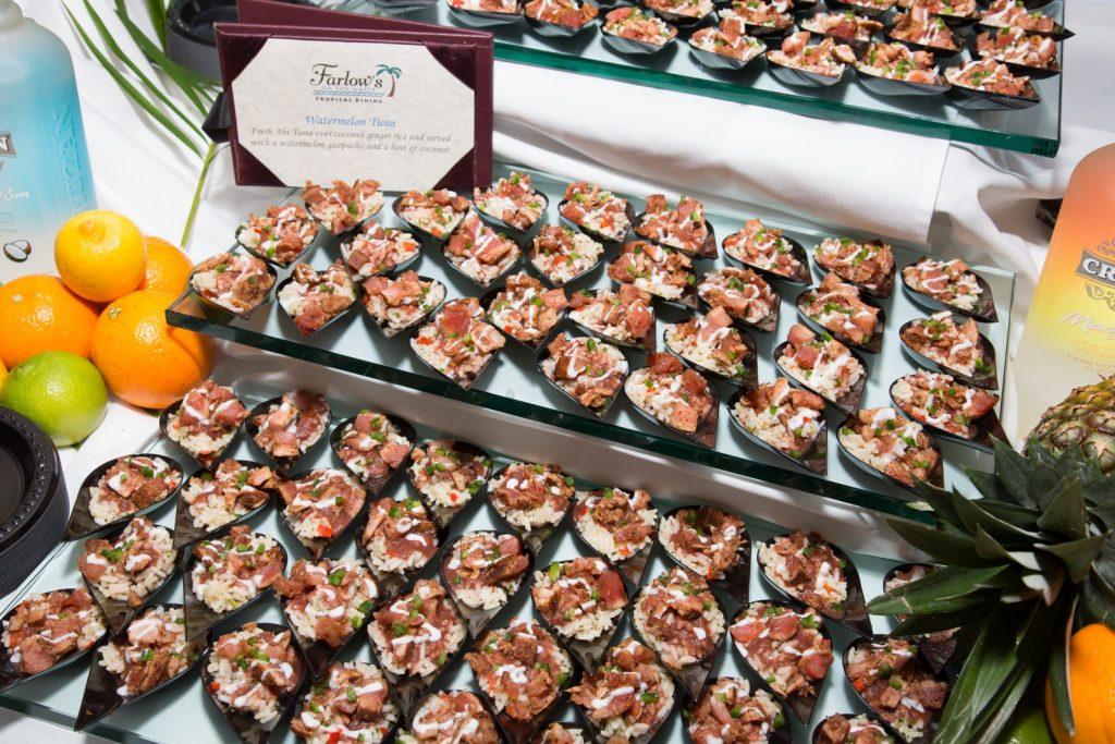 Food Stand at the Taste of Boca Grande Event