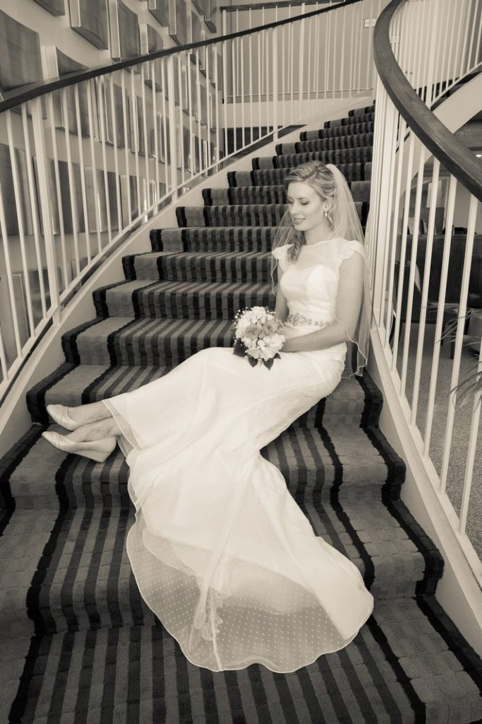 Bride at Hotel Venezia in Venice FL