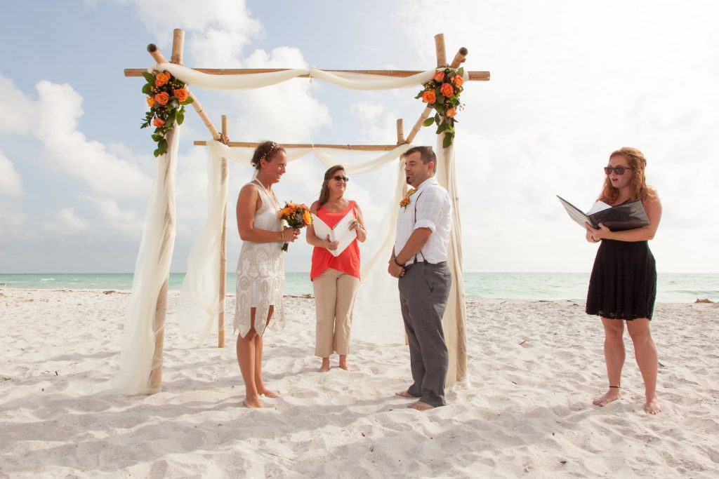 Wedding Ceremony at the Beach on Boca Grande