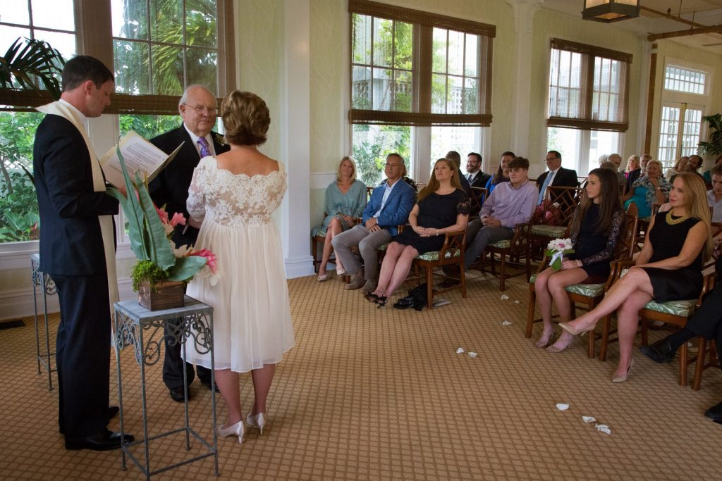 Wedding Ceremony at the Gasparilla Inn