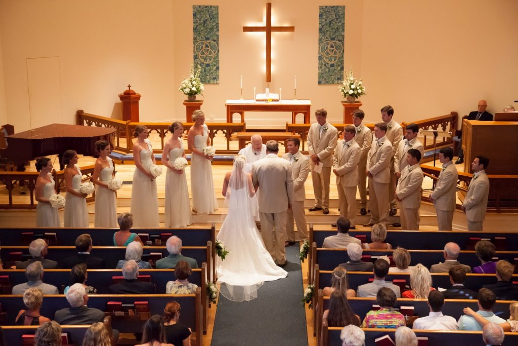 Wedding Ceremony at the Lighthouse United Methodist Church on Boca Grande
