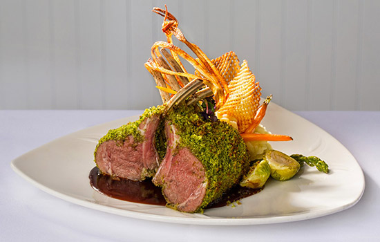 Food Photography - Rack of Lamb